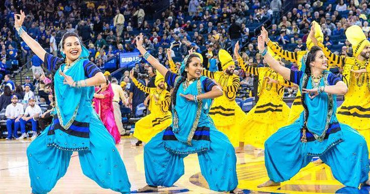 richardhaberkern.com http://soundlazer.com #India Bhangra takes on hip hop for a truly viral NBA half-time dance