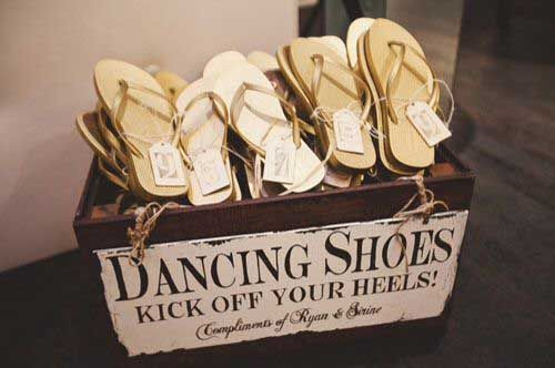 i love the dancing shoes idea
