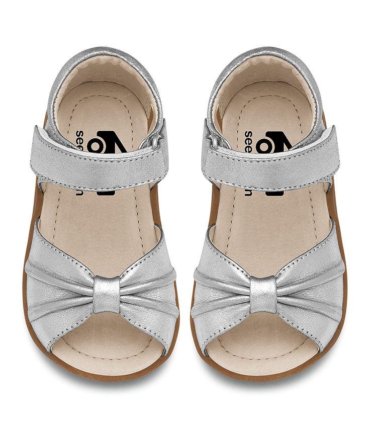 SKR Silver Bow Avianna Sandal//