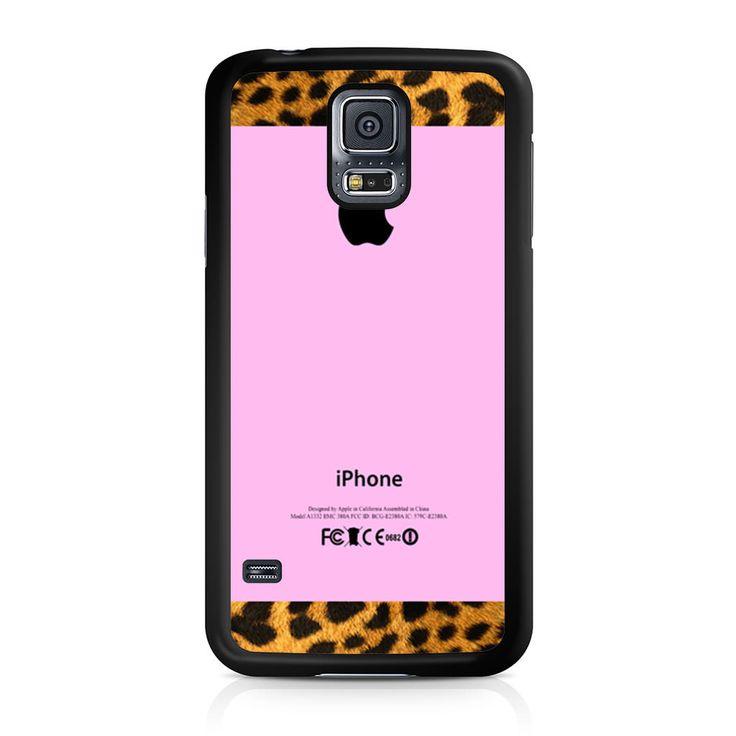 Good Pink with Logo Samsung Galaxy S5 Case