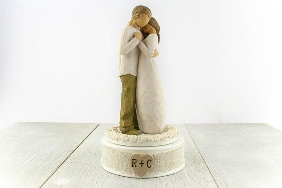 Hey, I found this really awesome Etsy listing at https://www.etsy.com/listing/238059855/personalized-willow-tree-promise-wedding
