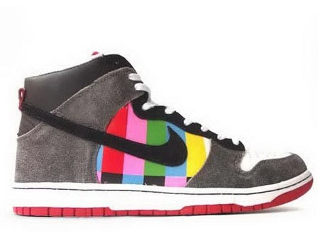 Mens Nike Dunk High Channel Zero x Revive Customs