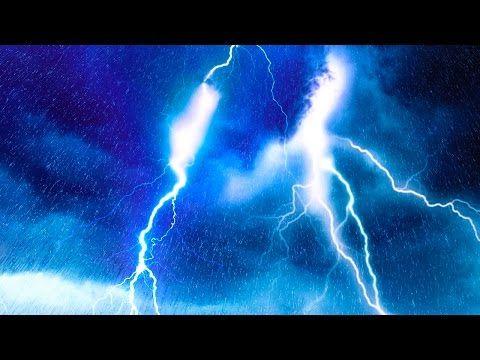 EPIC THUNDER & RAIN | Rainstorm Sounds For Relaxing, Focus or Sleep | White Noise 10 Hours - YouTube