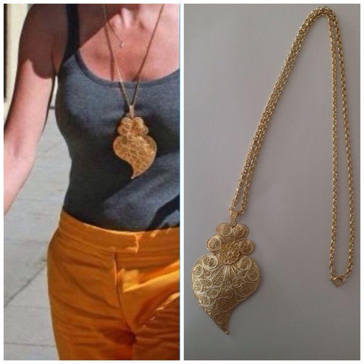 Filigree Silver Necklace