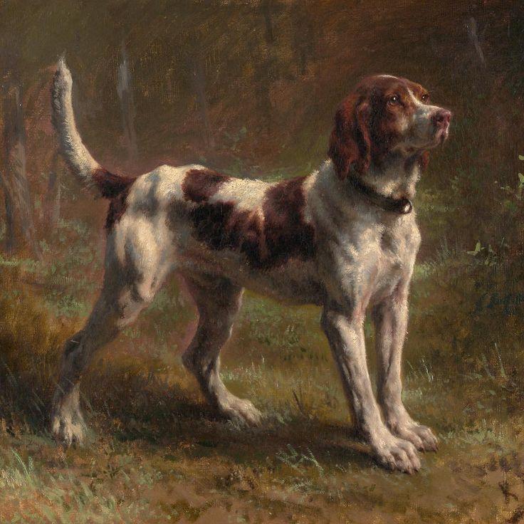 Rosa Bonheur (French, 1822–1899). A Limier Briquet…»