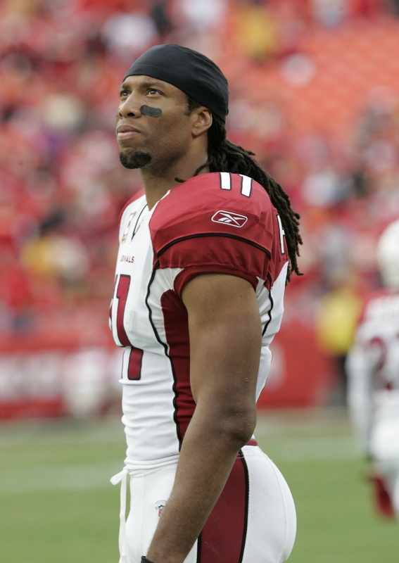 Arizona Cardinals WR Larry Fitzgerald..