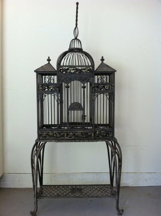 163 Best Birdcages Vintage Amp Antique Bird Cage Images