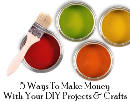 Ideas for profiting from DIY projects