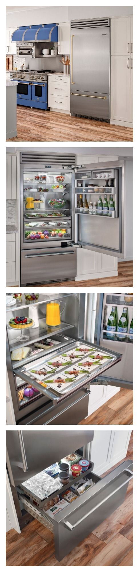 25 best ideas about kitchenaid refrigerator on pinterest stainless steel refrigerator - Home appliances that we thought ...