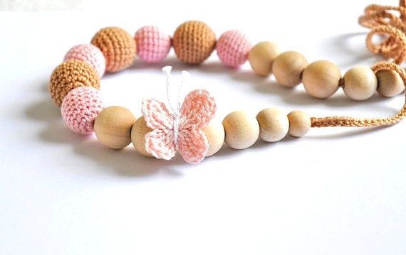 Let's fly! Butterfly nursing necklace to my #etsy shop: Nursing Necklace/Teething Necklace-Breastfeeding Necklace-Eco-Friendly- http://etsy.me/2z6PRac #jewelry #necklace #babyandchildcare #teething #nursing #teethingnecklace #nursingnecklace #wood
