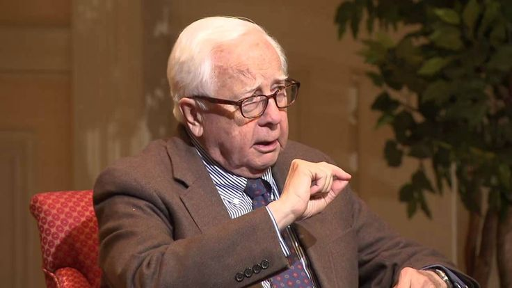 Historian David McCullough at the Library of Congress
