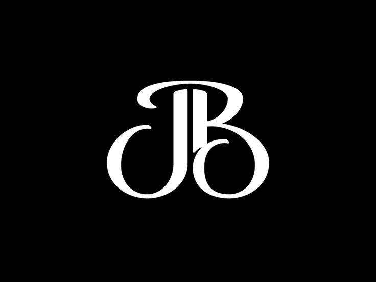 jb logo monogram design jb logo logos wedding logo