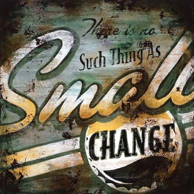 Small Change Art Print by Rodney White