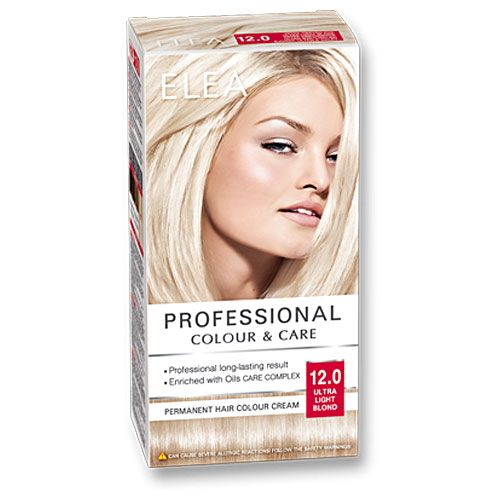 ELEA  ультра светлый блондин №12.0  Краска для волос