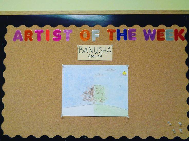 Artist of the week #NSA #Art #NSAArt