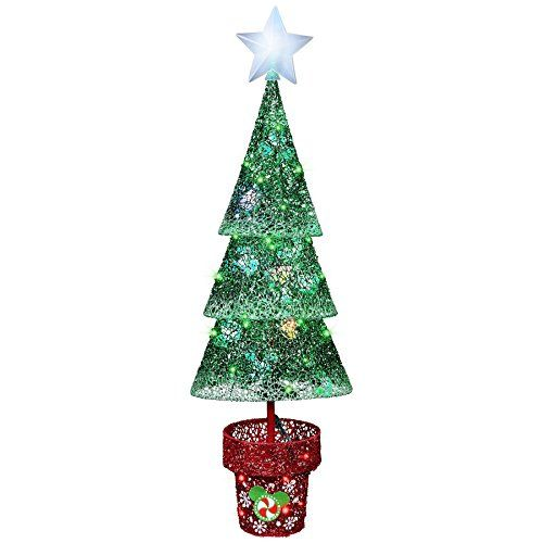 Disney Magic Holiday Color Whirl Led Christmas Tree You Can Get More Details Outdoor Christmas Decorations Led Christmas Tree Lights Led Christmas Tree