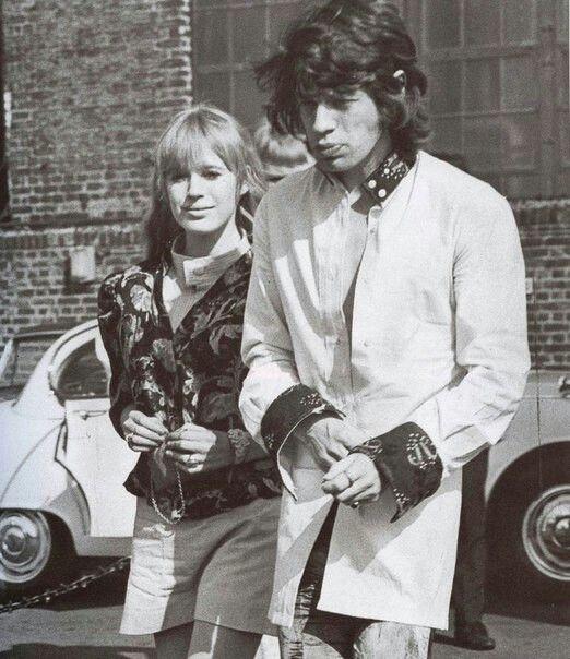 Мик Джаггер и Марианна Фейтфул, 1967.