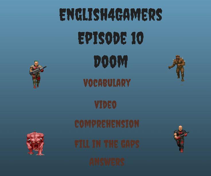 English4Gamers Doom English video fill in the gaps answers femfy richardretro