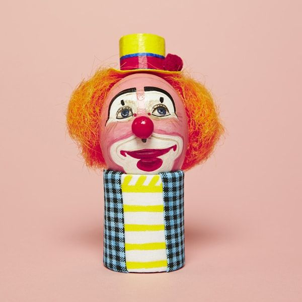 Britain's Oldest Clown Society Keeps Record of Every Unique Face Makeup on Eggs