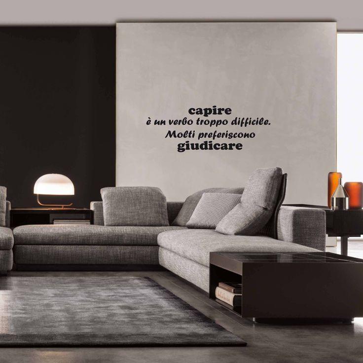 Citazione adesivi murali scritte adesive scritte for Scritte adesive muro
