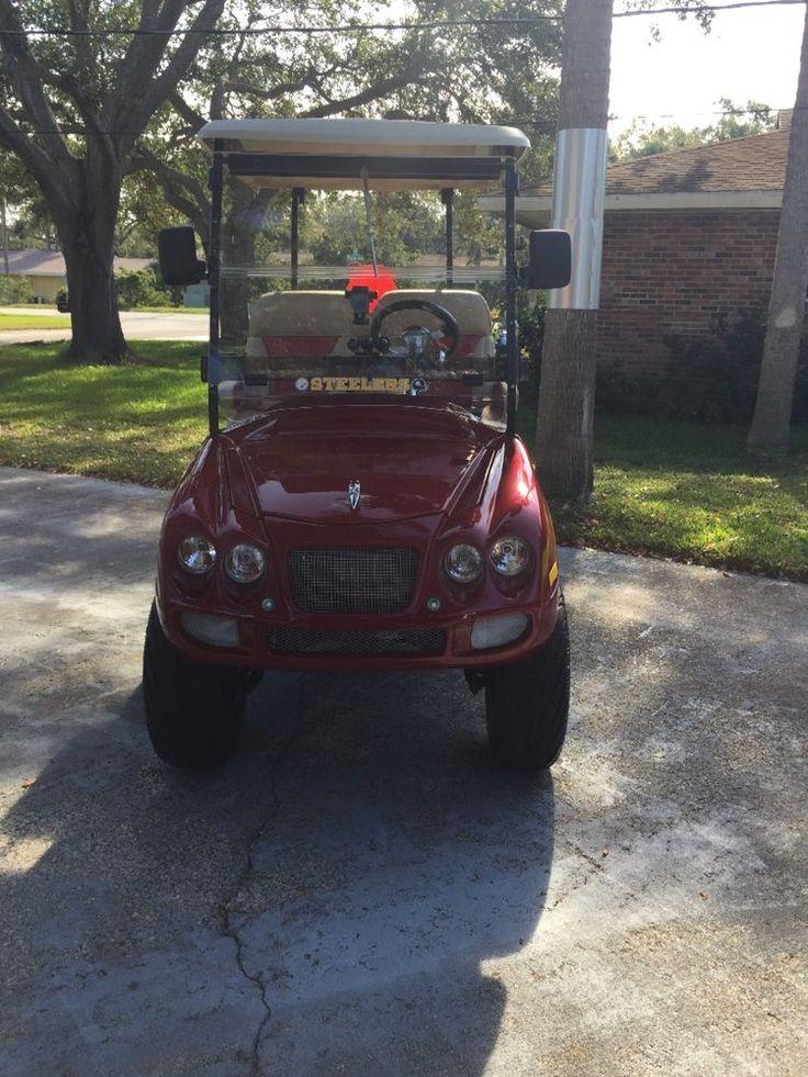 Street legal lsv Jaguar golf cart