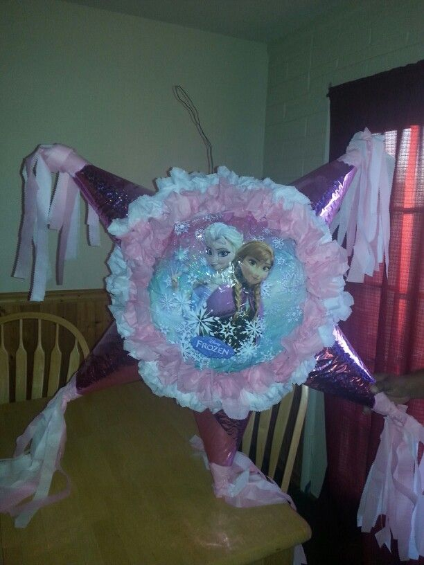 Frozen Pinatas We Made Today Sweets Pinterest We