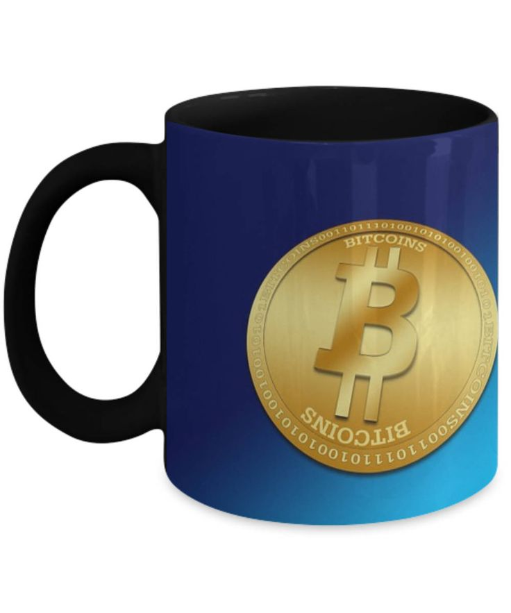 Bitcoin Mug, Bitcoin Coffee Mug, Bitcoins Mug, Novelty Bitcoin Mug, Special Mug to Give as a Gift for Bitcoin Lovers, Ceramic Travel Mug by BearHugBoutique on Etsy
