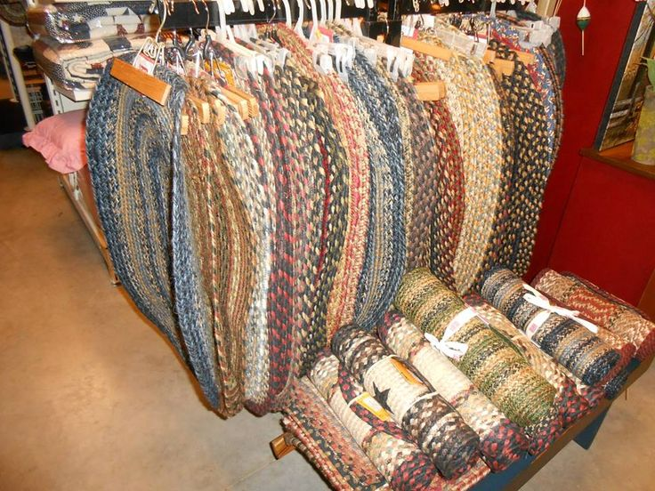 Lg Selection Of Braided Rugs Can Be Purchased And Shipped From The Old  Mercantile In Clarksville