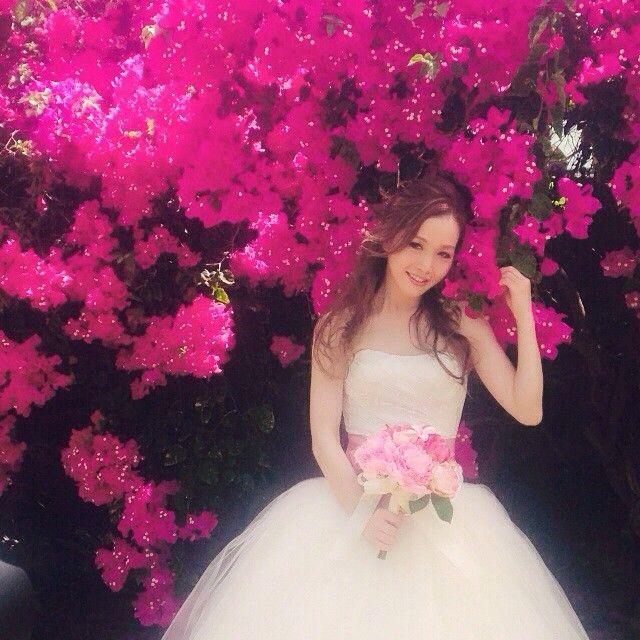 ハワイウェディングで大人気!メイクアップアーティスト《Satomiさん》の花嫁ヘアアレンジが可愛い♡ | ZQN♡