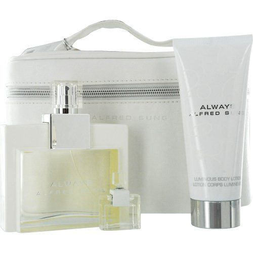 Alfred Sung Always Set (Eau De Parfum Spray and Body Lotion and Parfum Mini and Coffret) by Alfred Sung. $27.07. Design House: Alfred Sung. Fragrance Notes: water lily, pink peony, and neroli. Recommended Use: casual. Year Introduced 2009 Recommended Use. Save 66%!