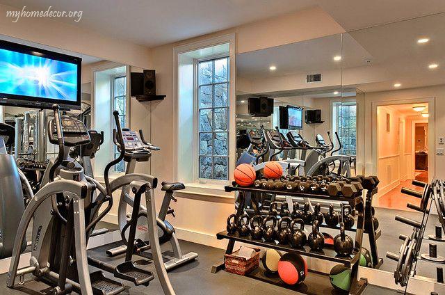 Modern Home GYM Room