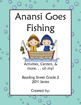 97 best reading street 2nd grade images on pinterest for Anansi goes fishing