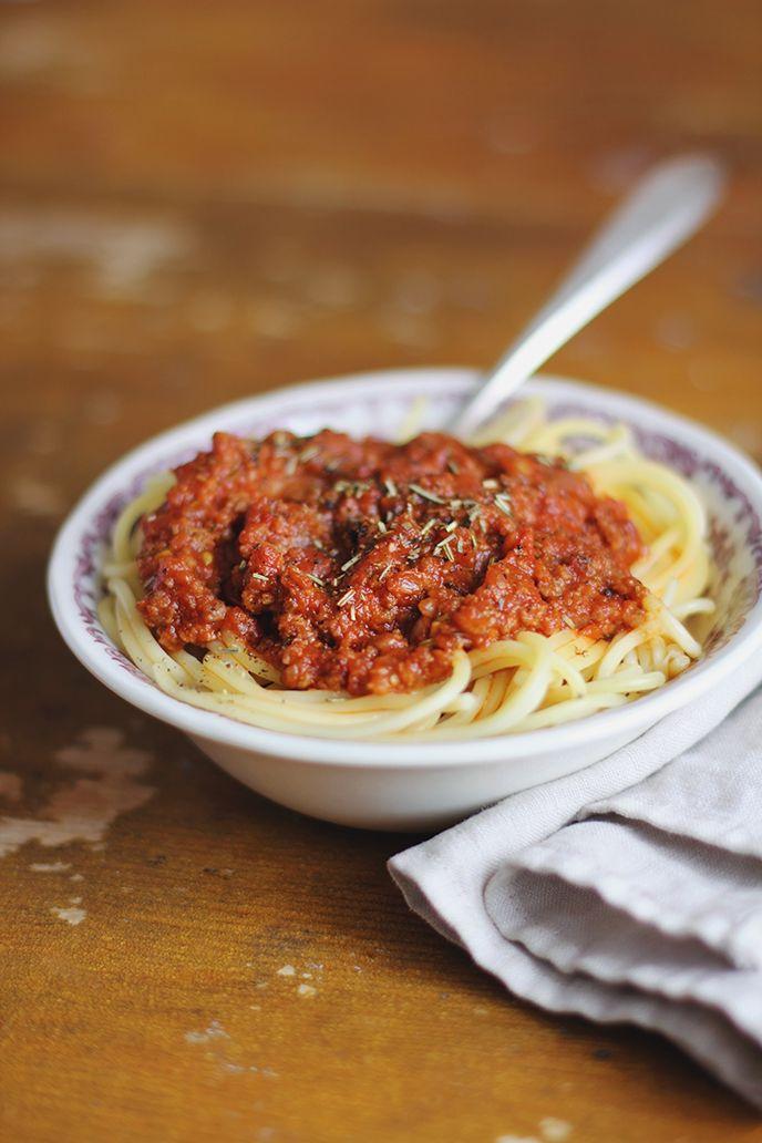 Recette de sauce bolognaise minute selon Bob le Chef