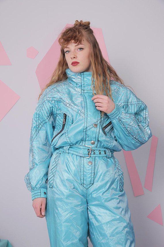f76cd61f89 90s ski suit size 38