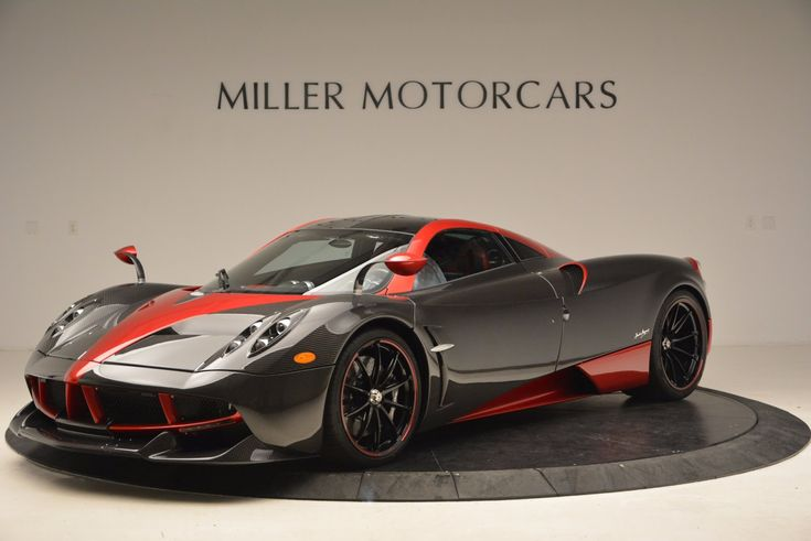 Stunning Red And Carbon Fiber Pagani Huayra For Sale In Connecticut