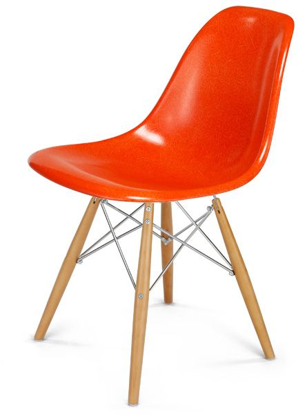 shell chair- more orange than this