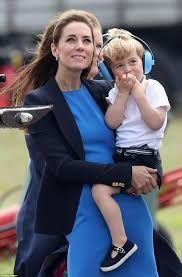 The ultimate endorsement... the Duke and Duchess of Cambridge chose Baby Banz Mini Muffs to protect Prince George's hearing at an airshow!