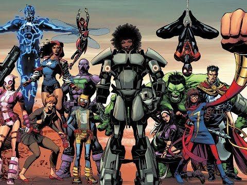COMIC BITS ONLINE: Marvel Comics : Comics or Politics. PICK ONE