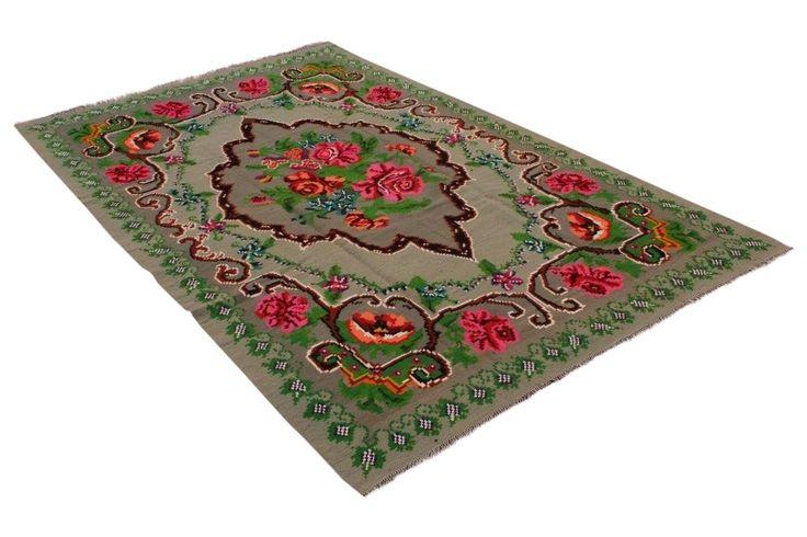 Rozenkelim, 274cm x 174cm | Rozenkelim.nl - Groot assortiment kelim tapijten