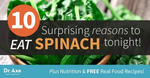 Spinach nutrition has powerful anti-inflammatory and antioxidant abilities, and if you combine that with its very low amount of calories, it is easily...