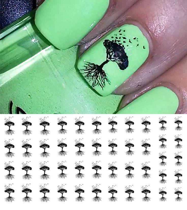 Mejores 27 imágenes de Nails en Pinterest | Calcomanías en uñas ...
