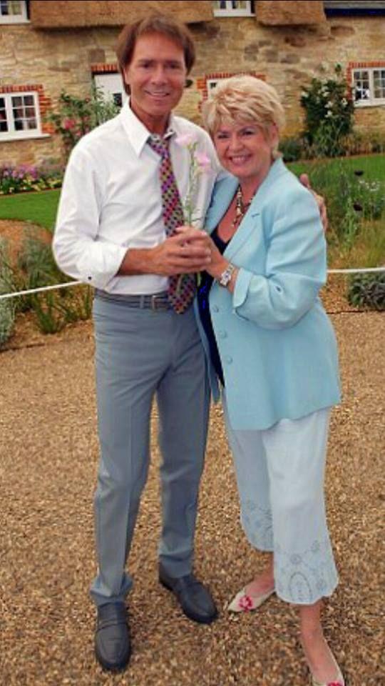 Cliff with Gloria Hunniford