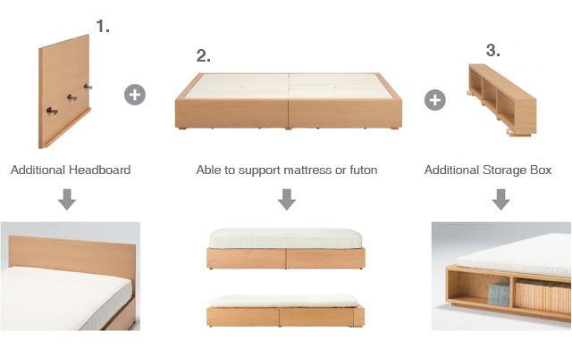 Hd Walnut Storage Bed Queen Storage Bed Queen Storage Bed Bed