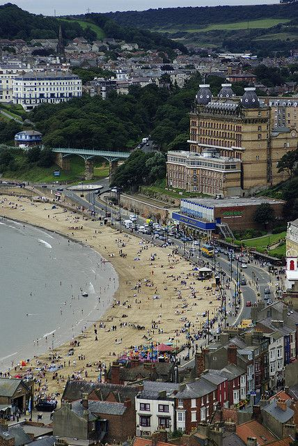Scarborough, Yorkshire, England. 19 of the best beaches in Europe: http://www.europealacarte.co.uk/blog/2011/03/28/best-beaches-europ/