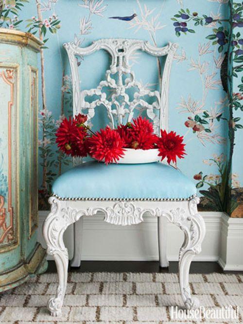 Miles Redd's colorful room details