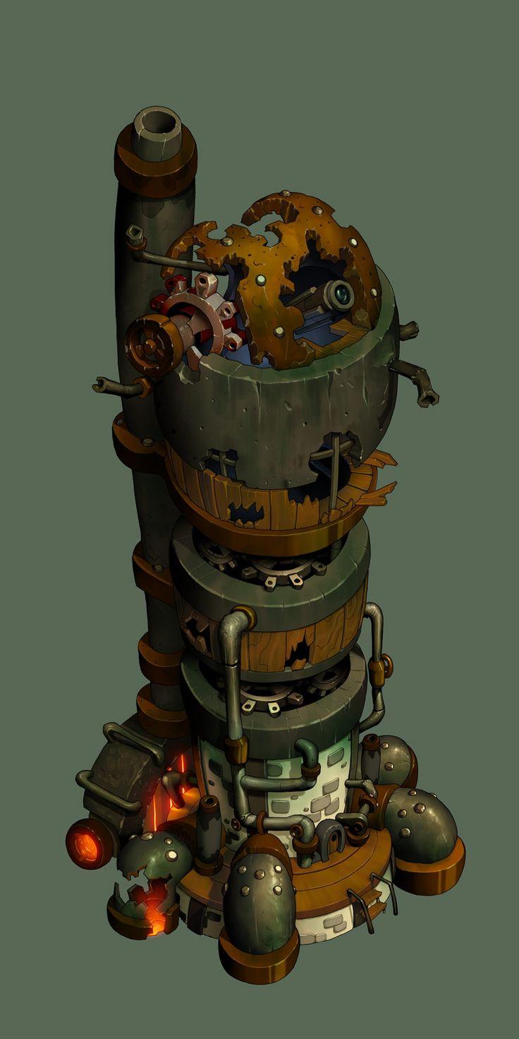 Scrapyard Tower by *danimation2001 on deviantART