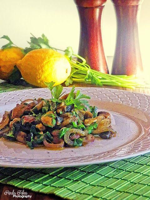 MY LIFE MY MEMORIES: Μανιτάρια τηγανητά λεμονάτα!