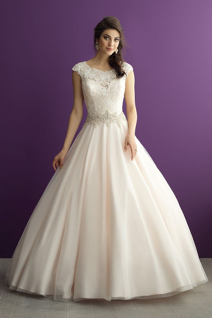 Wedding gown by Allure Romance Available at Bridal Collections Spokane, WA www.thebridalcollections.com
