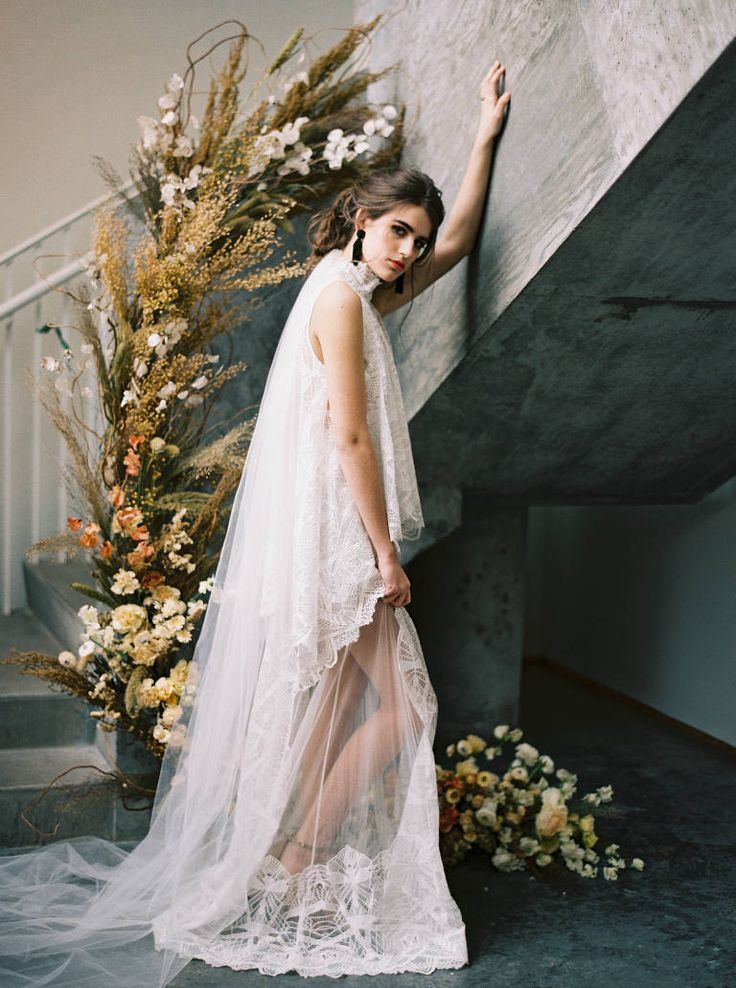 Elegant Bohemian Canvas Event Space Wedding Photos in Seattle | Anna Peters Photography