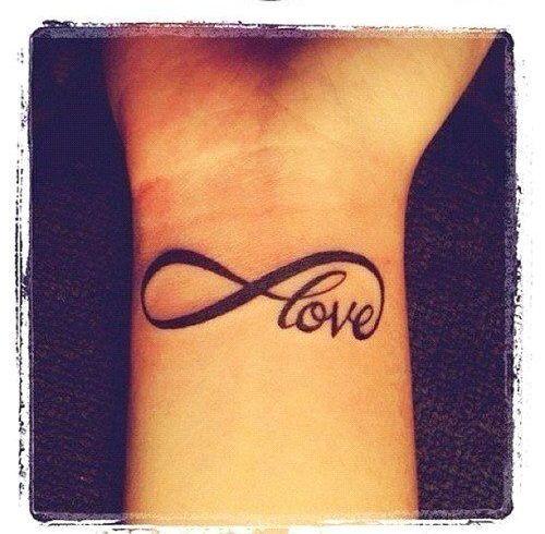 Frase: Love & Signo Infinito